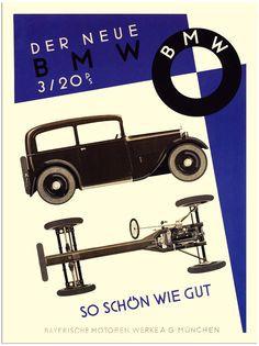 Affiche voor BMW