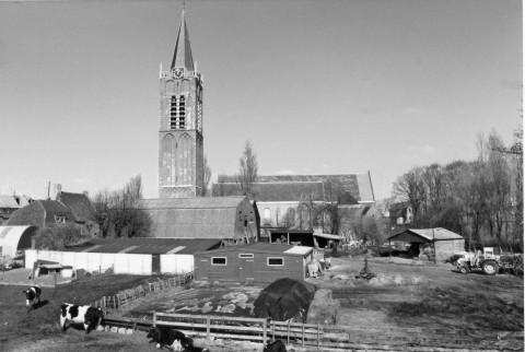 De Kerkbuurt in het begin van de jaren tachtig.
