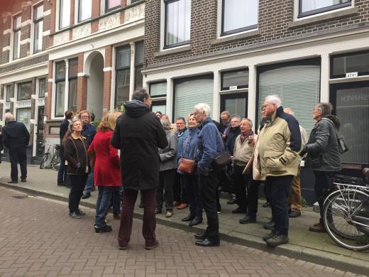 Cuypersgenootschap excursie Rotterdam, Delftshaven. Foto bvhh.nu 2017.