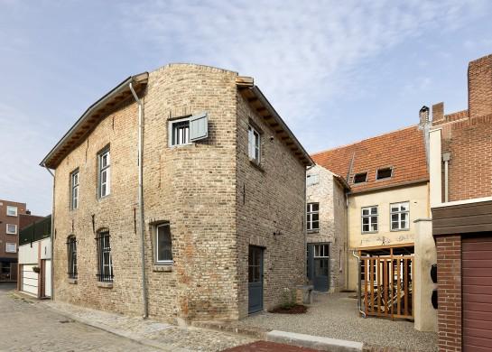 De Puddingfabriek aan de Houtstraat 9-11 in Venlo. Foto Peter de Ronde, Zebra Studio's.
