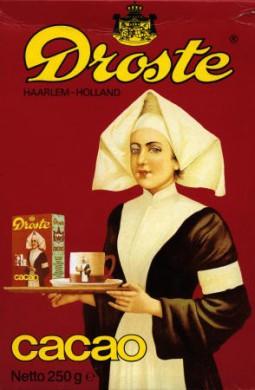 Droste verpleegster, Droste-effect