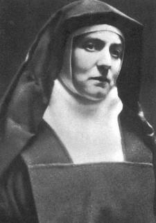 Portretfoto van Edith Stein als karmelitesse