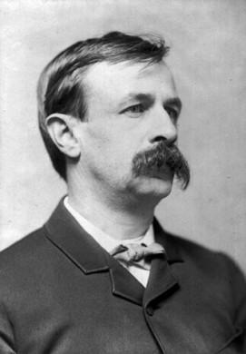 Portretfoto van Edward Bellamy, ca.1889