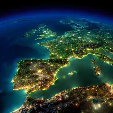 Europa van boven