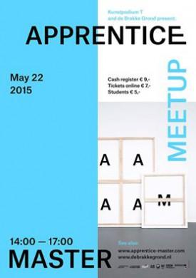 Flyer Leerling-Meester tentoonstelling