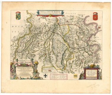 Fossa Eugeniana in Atlas van Blaeu