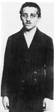 Portret van Gavrilo Princip