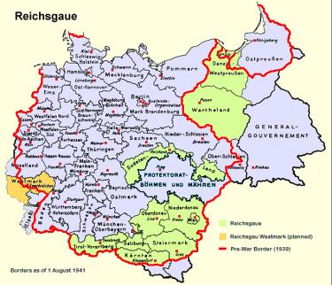 Het Zuidoosten van het door de nazi's bezette Polen stond bekend als het Generaal-Gouvernement. Het zou een 'dumpplaats' voor Joden en andere minderwaardige elementen worden.