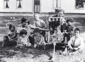 Gezin van Herman en Eva in 1934