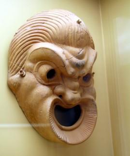 Grieks theatermasker