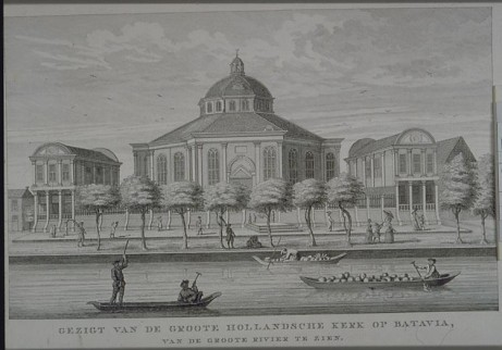 Hollandse Kerk Batavia