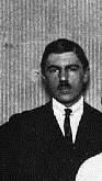 Portret van Wim Sluiter (uitsnede van foto uit 1922)