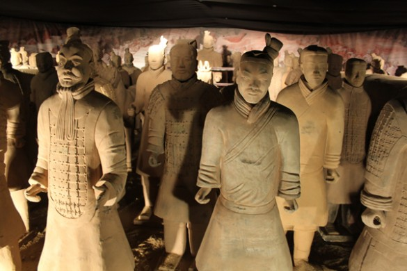 Expositie Terracotta Warriors in New Babylon, Den Haag