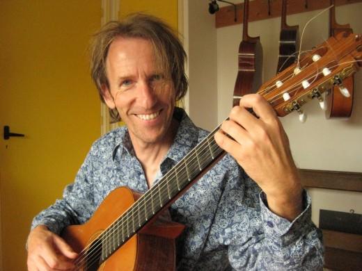 Jos Theeuwes, meester gitarist, Kunstweekend F.C. Dondersstraat Utrecht (2019)