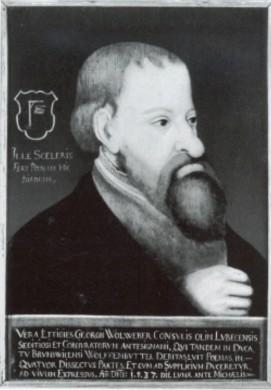 Spotportret Jürgen Wullenwever