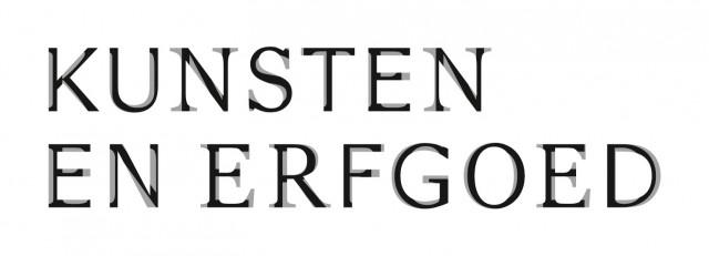 Kunsten en erfgoed logo