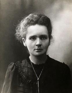 Marie Skłodowska-Curie, foto uit 1898.