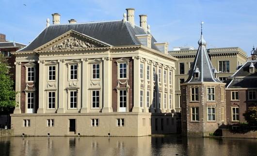 Mauritshuis, ontworpen en gebouwd door Jacob van Campen