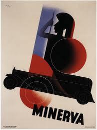 Affiche voor Minerva