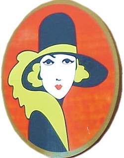De eerste Miss Belga  door Leo Marfurt (1925)