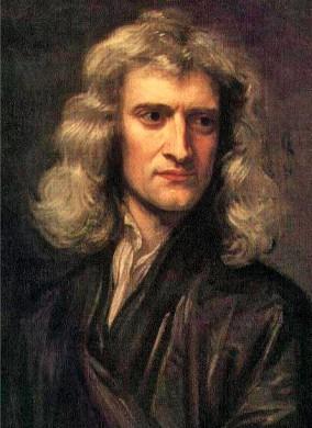 Portret van Newton, 1689