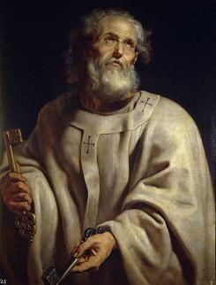 De eerste paus Petrus