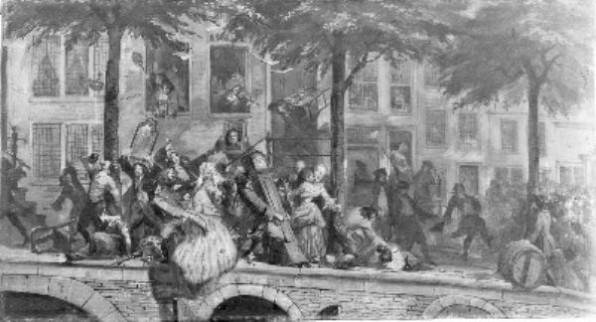 Plunderingen bij pachters 1748