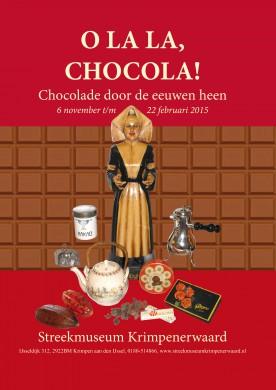 Tentoonstelling Oh la la Chocola