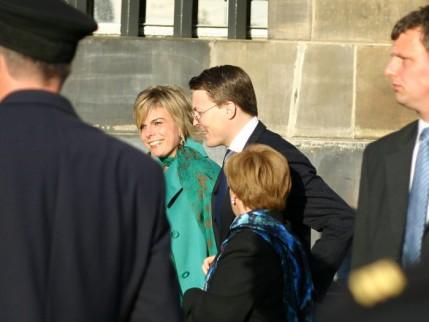 Prins Constantijn en zijn vrouw Laurentien