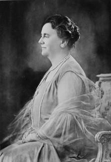 Foto van koningin Wilhelmina