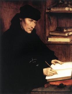 Portret van Erasmus door Quentin Matsys (1517)