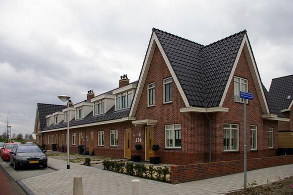Retro architectuur Uithoorn