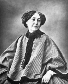 Foto van George Sand anno 1877