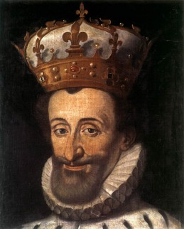 Portret van Hendrik IV van Frankrijk