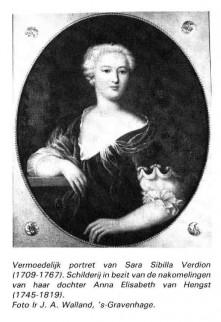 Portret Sara Sibilla Verdion