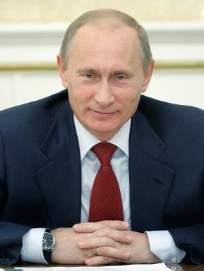Portret van Vladimir Poetin