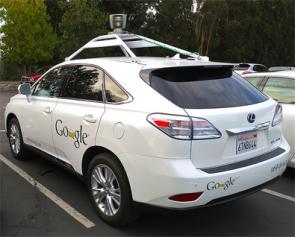 Zelfrijdende auto van Google
