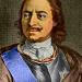 Afbeelding portret van tsaar Peter de Grote