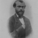 Fotoportret Pierre Cuypers, Parijs circa 1855. Origineel RHCL, fotocollectie W. Everts Rolduc.