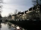 19e eeuwse gevels aan de Vloeddijk in Kampen