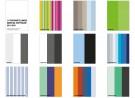 kleurkaarten van 11 tentoonstellingen in de Kunsthal