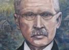 Portret van Friedrich Wilhelm Raiffeisen