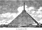 Gravure van de Piramide van Austerlitz, Nederland door Baltard in ca 1805