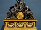 Clock representing Mars and Venus, an allegory of the wedding of Napoleon I and Archduchess Marie Louise of Austria