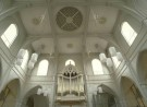 Foto van het interieur van de Amstelkerk