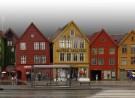 (Tyske) Bryggen / (Duitse) Kade in Bergen (N)