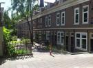 Foto van de dubbeltjeswoningen aan de Mauritskade in Amsterdam