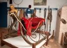 De arrenslee in Streekmuseum Krimpenerwaard