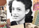 Tweede Wereldoorlog; collage herinneringen en portret Sonja van Es