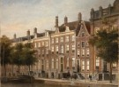Afbeelding schilderij Herengracht met huis Willet Holthuijsen
